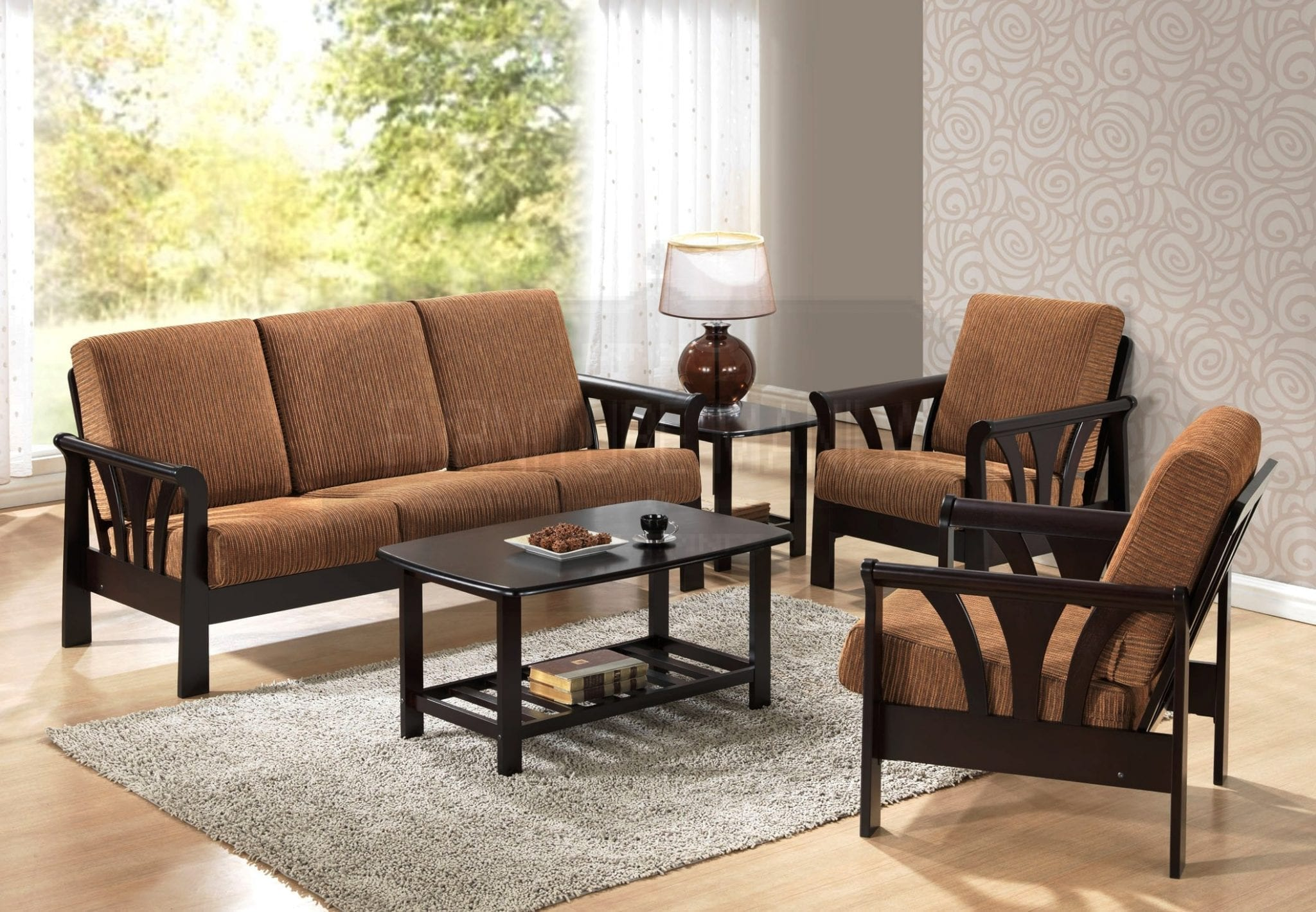 Malaysian wood sofa set philippines Home office furniture philippines