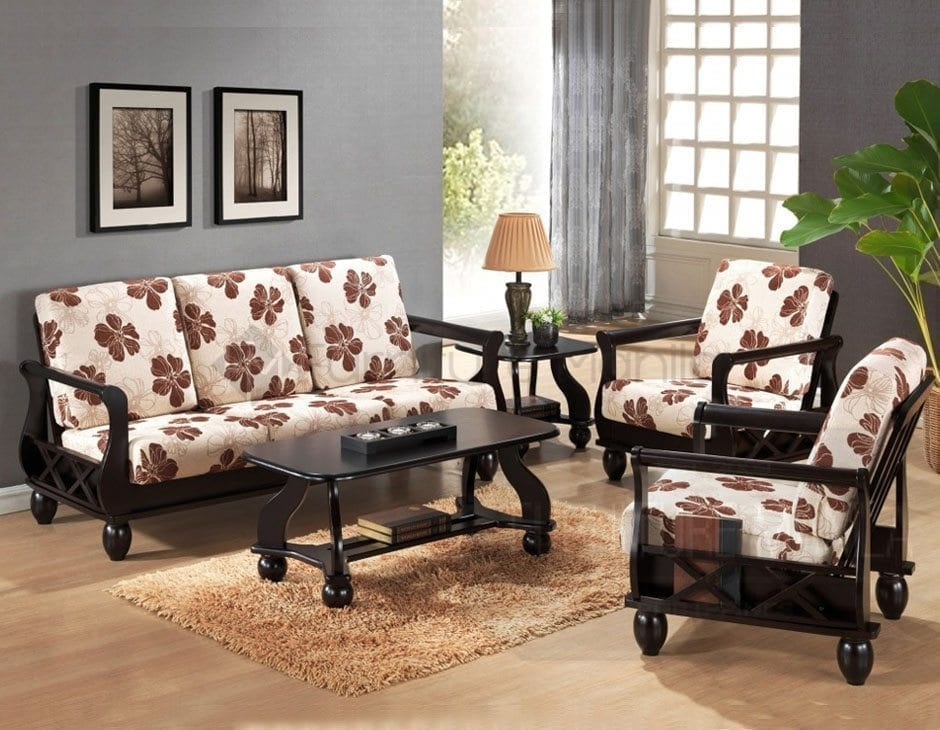 Yg311 Wooden Sofa Set