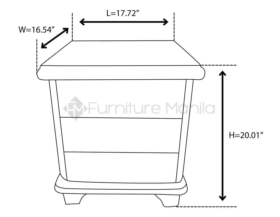 newest e7ac4 8a930 04 NIGHT TABLE dimension | Home & Office Furniture Philippines