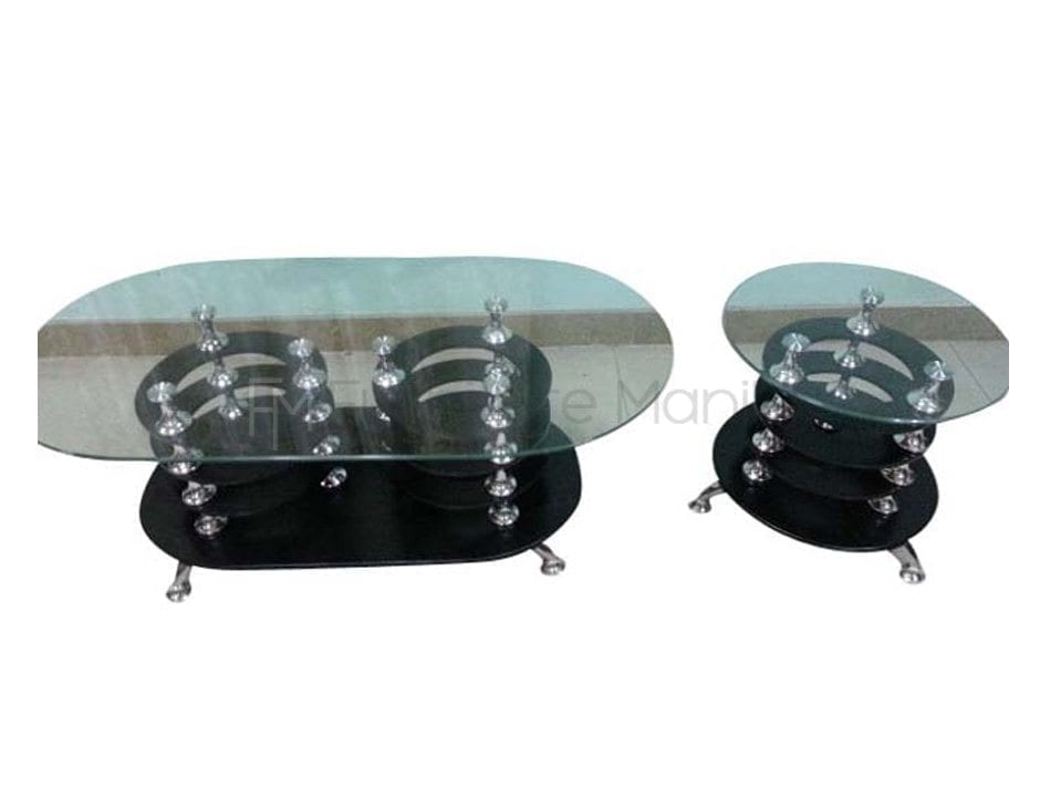 2012 CENTER SIDE TABLE GLASS TOP