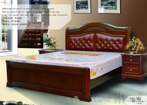 9013 Wooden Bed Frame Home Amp Office Furniture Philippines