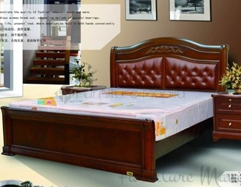 9013 Wooden Bed Frame Home Office Furniture Philippines