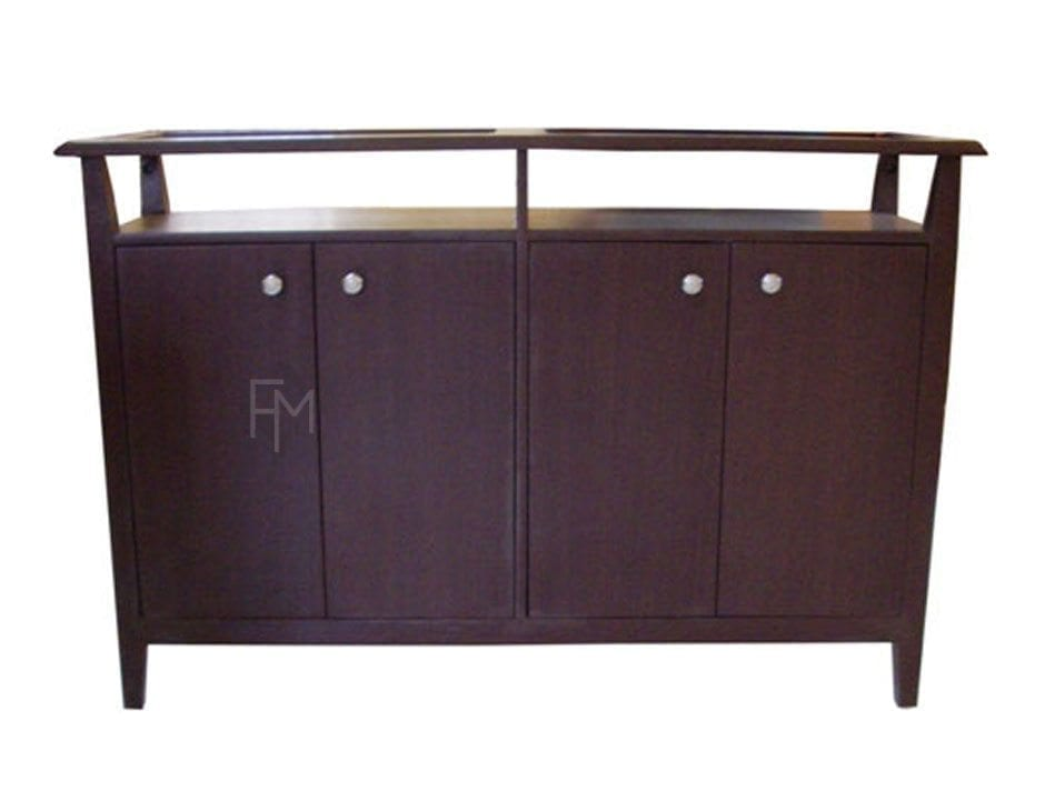 CONSOLE TABLE WITH SHOERACK