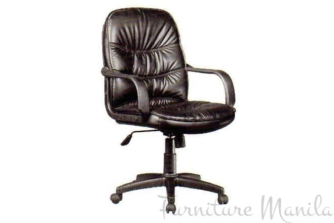 ELM1017A-P JR EXEC LEATHER CHAIR
