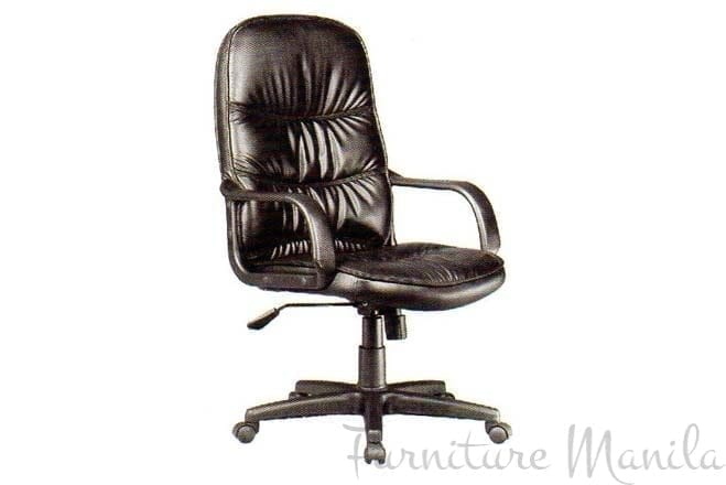 ELM1017B-P SR EXEC LEATHER CHAIR