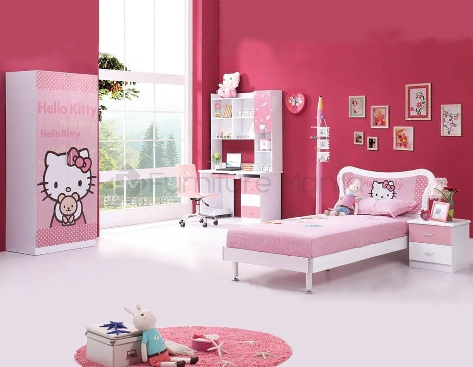 HELLO KITTY BEDROOM SERIES
