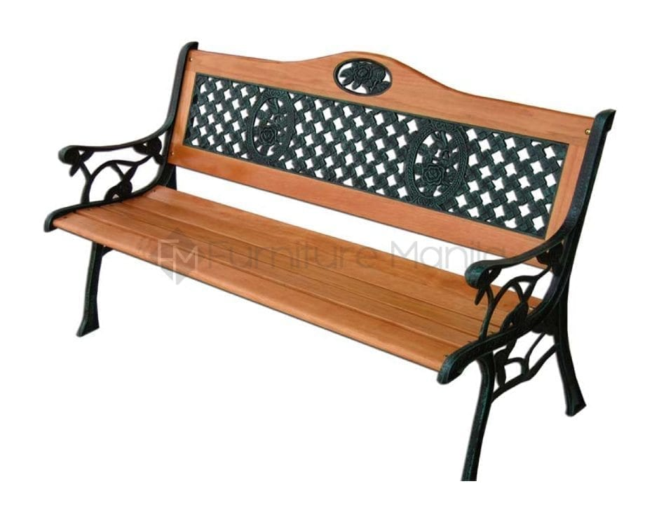 Wood Effect Aluminium Garden Furniture Modern Patio Outdoor