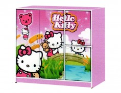 M33 HELLO KITTY KIDS CABINET