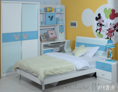 b19 mickey icon bed