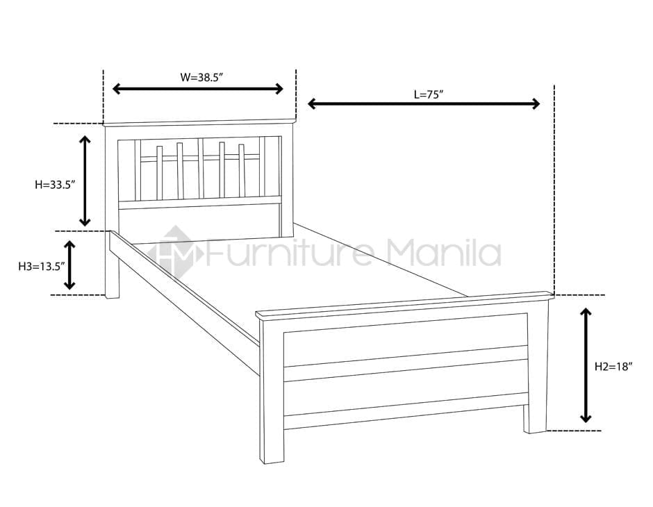 BARSTOW BED FRAME | Furniture Manila Philippines