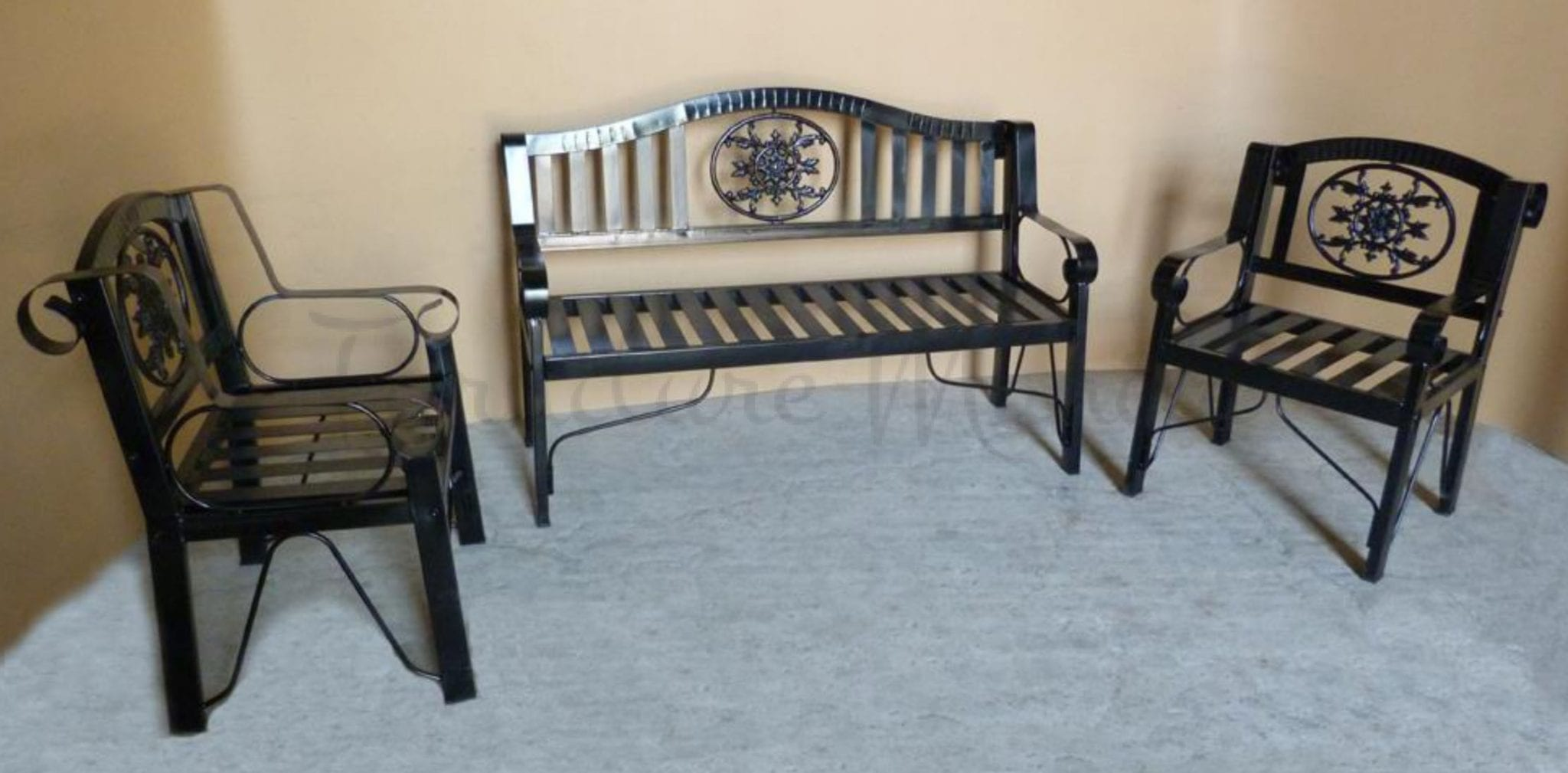 Metal Bench Set 311 Home Amp Office Furniture Philippines