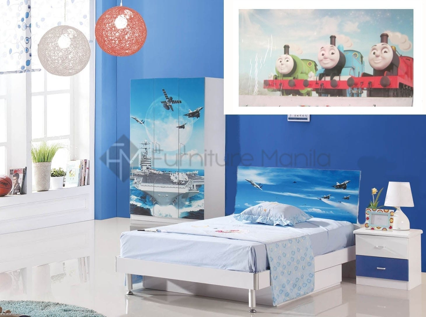 thomas train bedroom