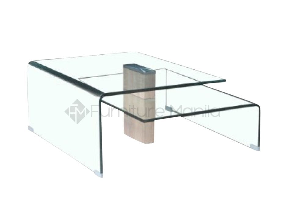 F201 coffee table clear