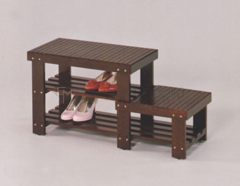 SB01 BENCH WITH SHOERACK