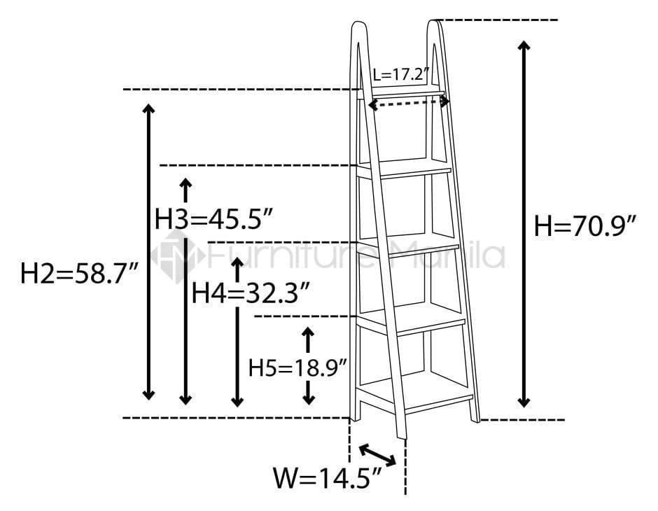 Yhsl009c Ladder Shelf Home Amp Office Furniture Philippines