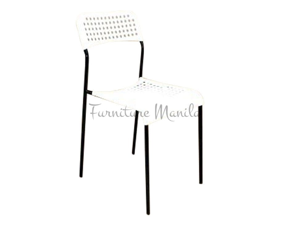 049 Plastic Chair Color-White