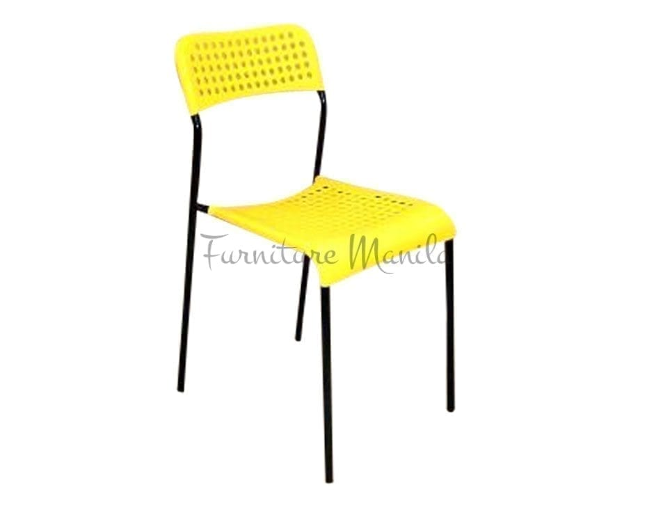 049 Plastic Chair Color-Yellow