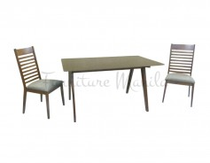 5156 Dining Set 6 top glass