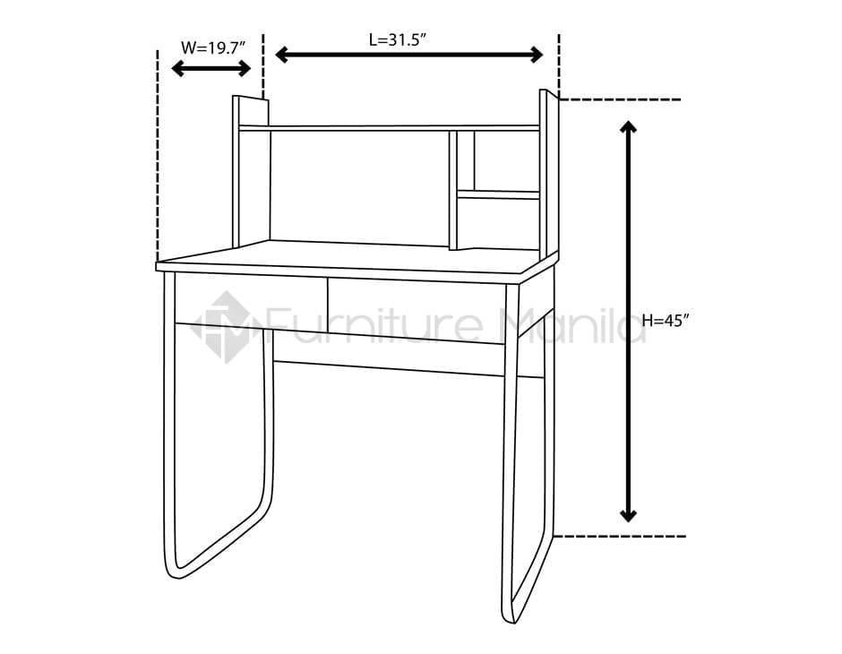 Ct1337 Study Table Home Amp Office Furniture Philippines