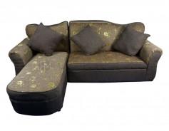 Lady Grace L-Shape Sofa with Stool