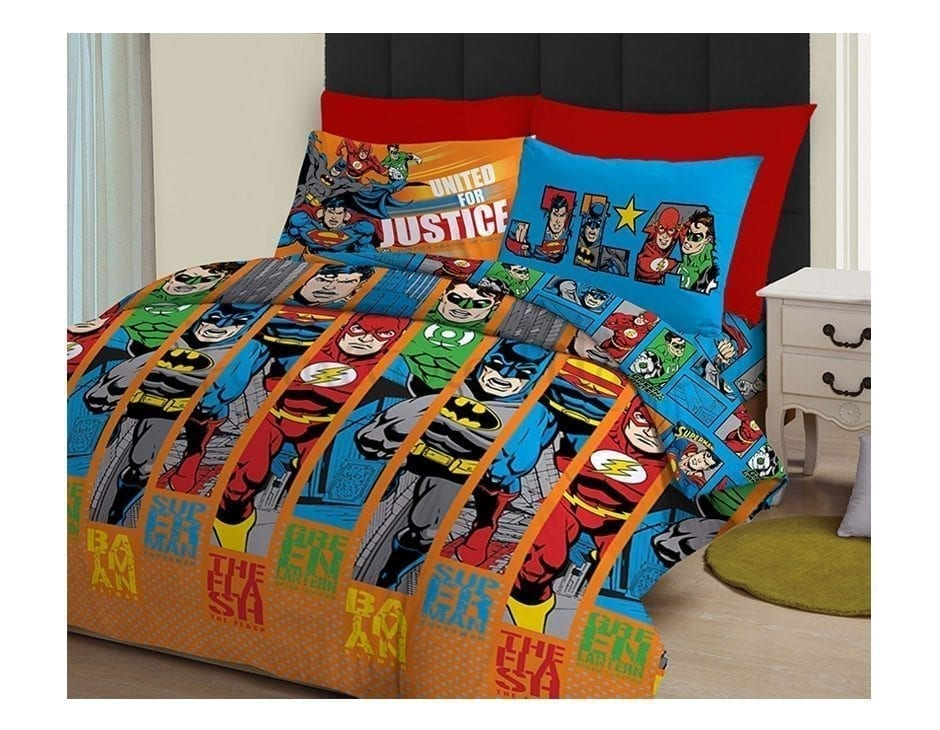 JUSTICE LEAGUE BED SHEET – Furniture Manila Philippines