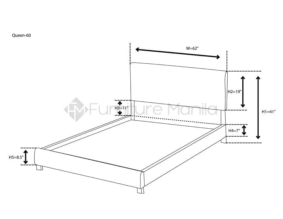 ANA BED FRAME | Home & Office Furniture Philippines