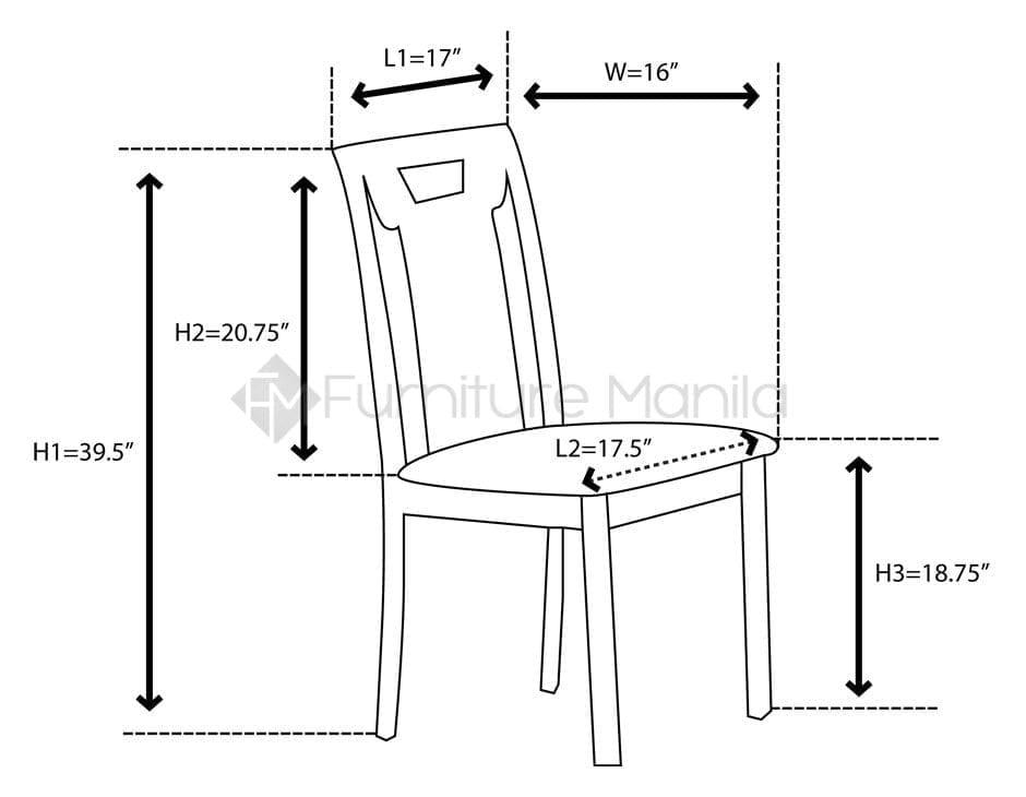 MANDY SOPHIA DINING SET Home amp Office Furniture Philippines : JITMANDY chair dimension from www.furnituremanila.com.ph size 940 x 730 jpeg 44kB