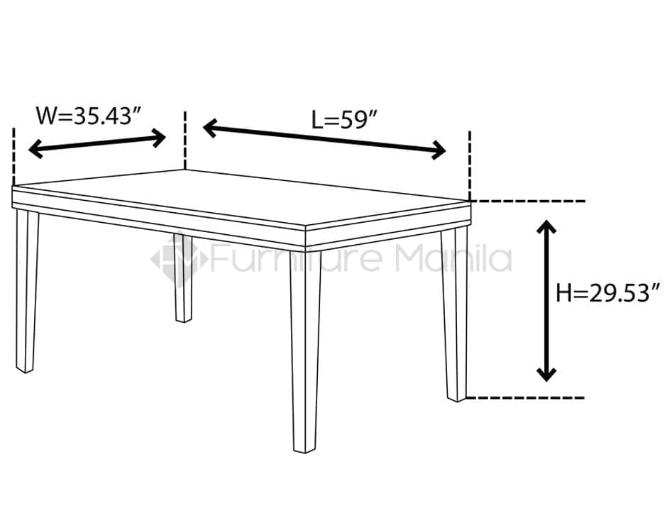 Lw4100 Dining Set Home Amp Office Furniture Philippines