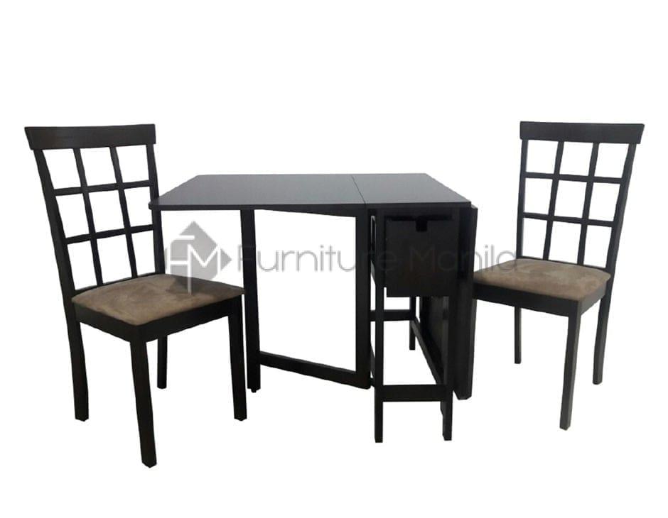 Buy Miami Gateleg Helena Foldable Dining Set Furniture