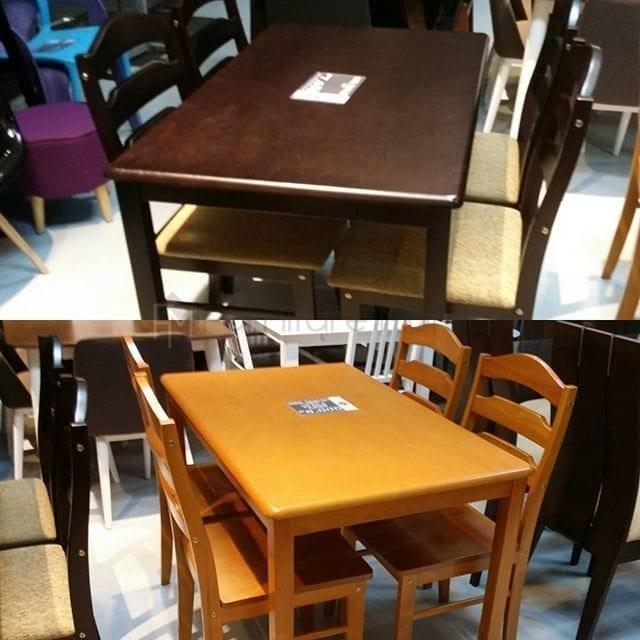 Wooden dining set manila top sale outdoor high backrest for Affordable furniture manila