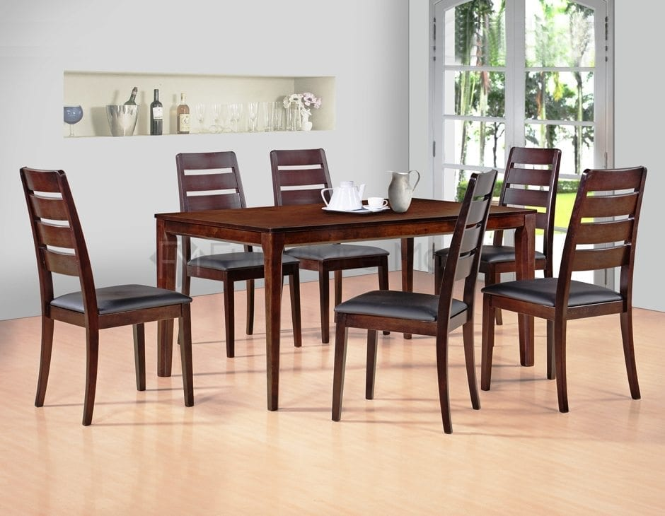 Rdt117b rectangle dining set home office furniture philippines Home office furniture philippines