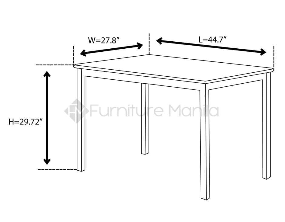 hv3134 dining set home office furniture philippines. Black Bedroom Furniture Sets. Home Design Ideas