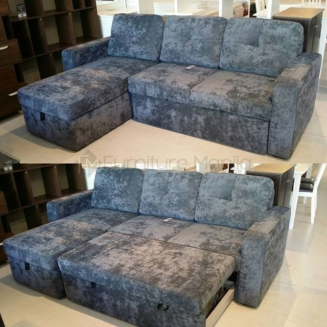Angel sofa bed with storage home office furniture for Sofa bed philippines