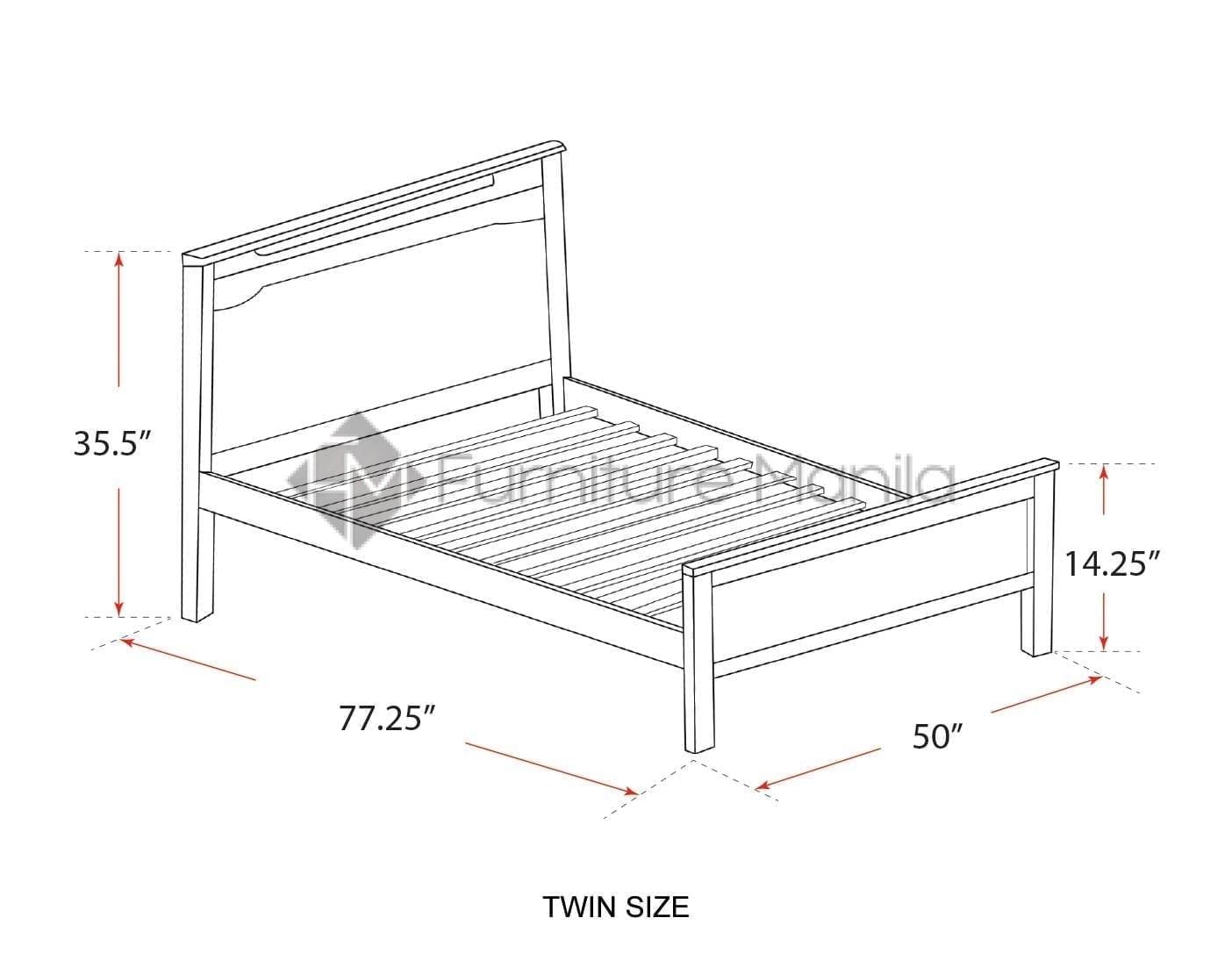 318 Wooden Bed Frame Furniture Manila