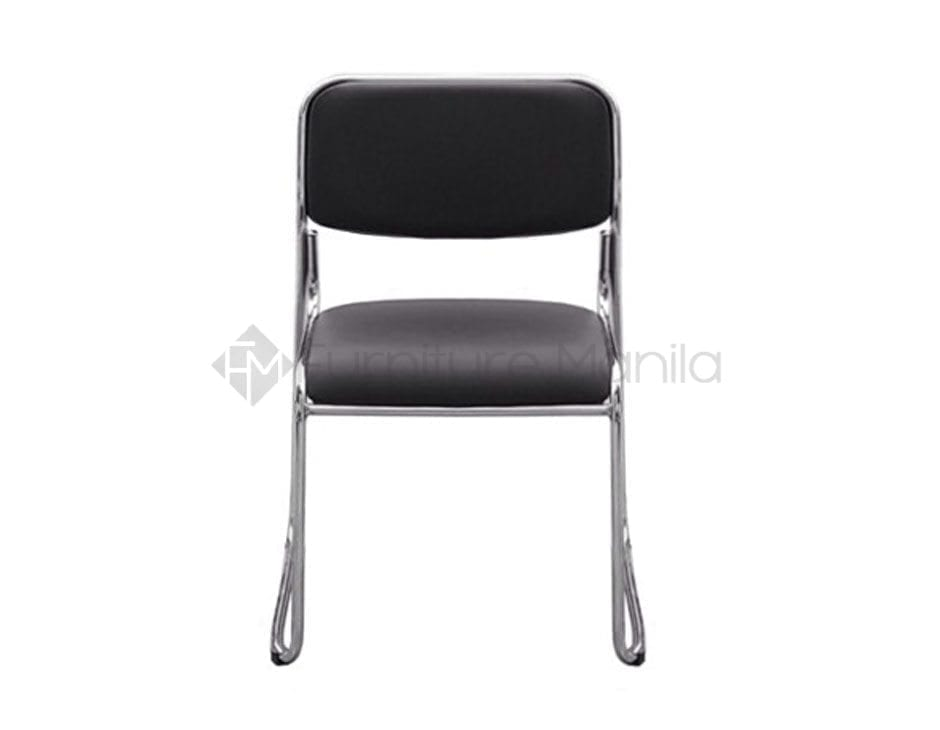 114 visitor chair black