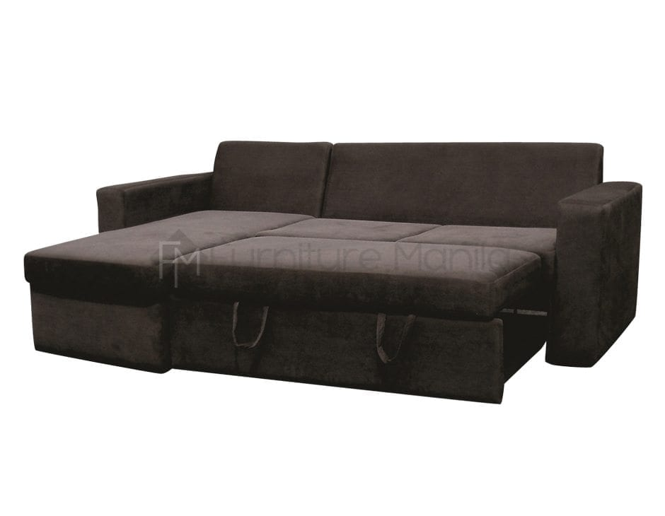 AUDREY L-SHAPE SOFA BED WITH STORAGE | Home & Office Furniture ...