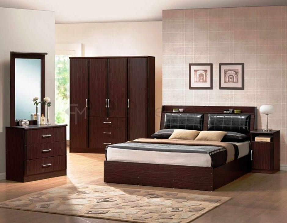 Contemporary Bedroom Set London Black By Acme Furniture: Home & Office Furniture Philippines