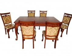 08-318  Rectangular Dining Set 1+6