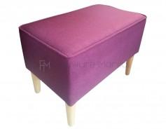 NINJA stool rectangle purple