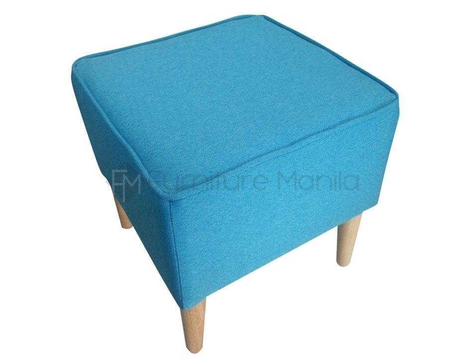 NINJA stool square blue