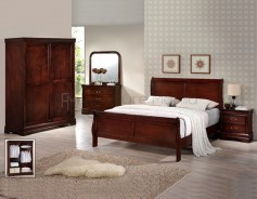 Hapi-marriott wooden bed set