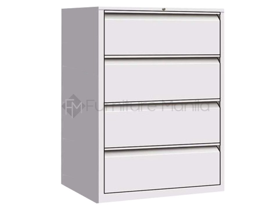 efl4 4-layer lateral filing cabinet | home & office furniture lateral file cabinet with shelves