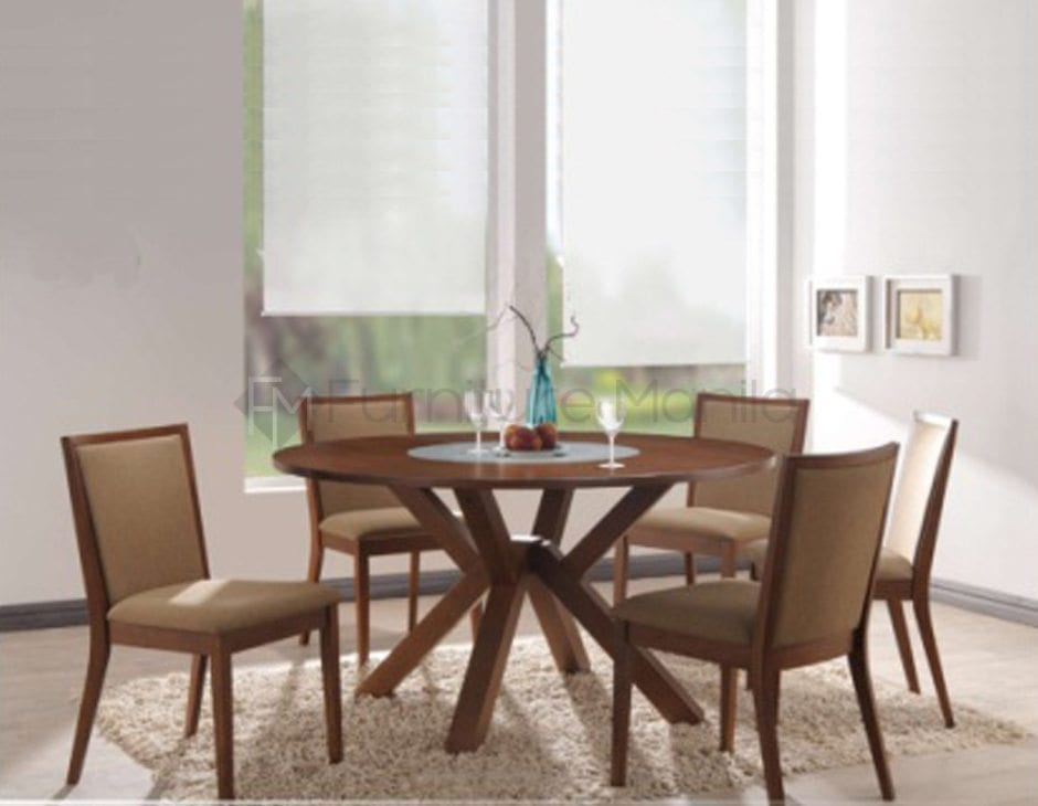 ROSS ROUND TABLE DINING SET Furniture Manila Philippines