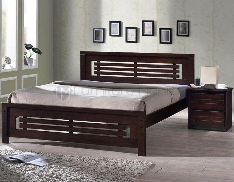 6579 Wooden Bed Home Office Furniture Philippines