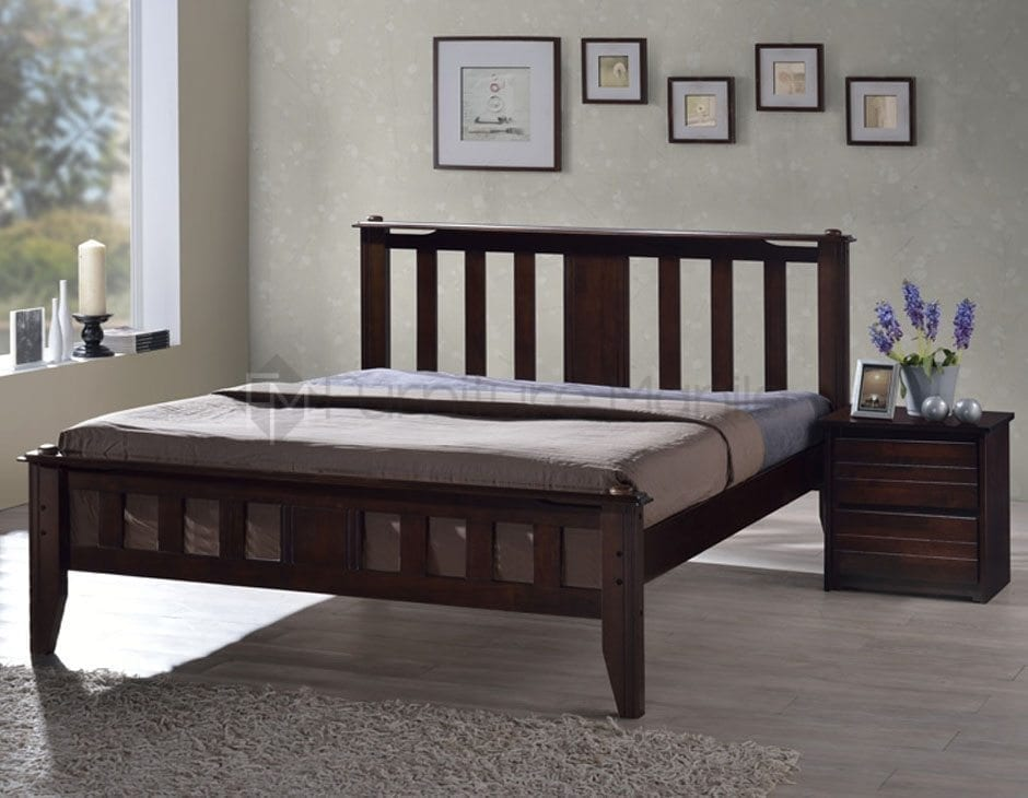 Contemporary Upholstered Bed Frame Home Office Furniture Philippines