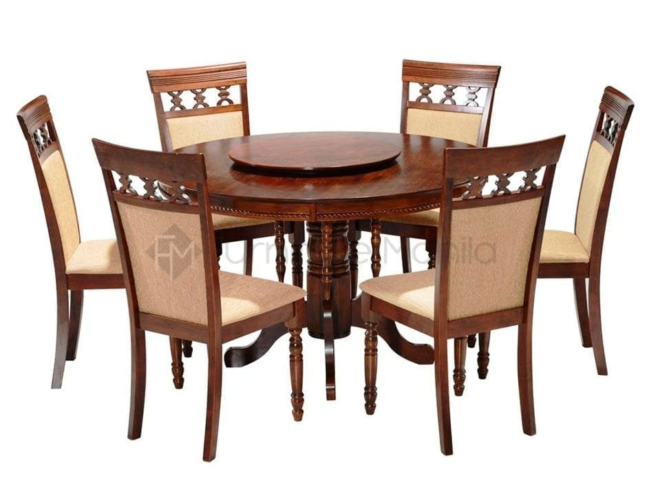 Nv3409 round table dining set home office furniture philippines Home furniture laguna philippines