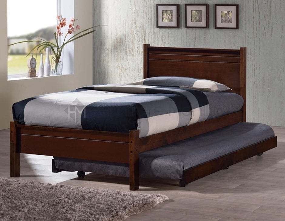 Single bed with pull out bed 28 images corona under for Pull out bed