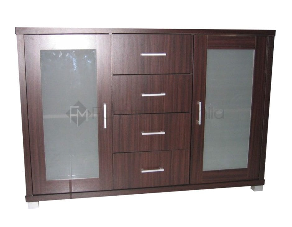 MP 19001 Sideboard with Glass Doors