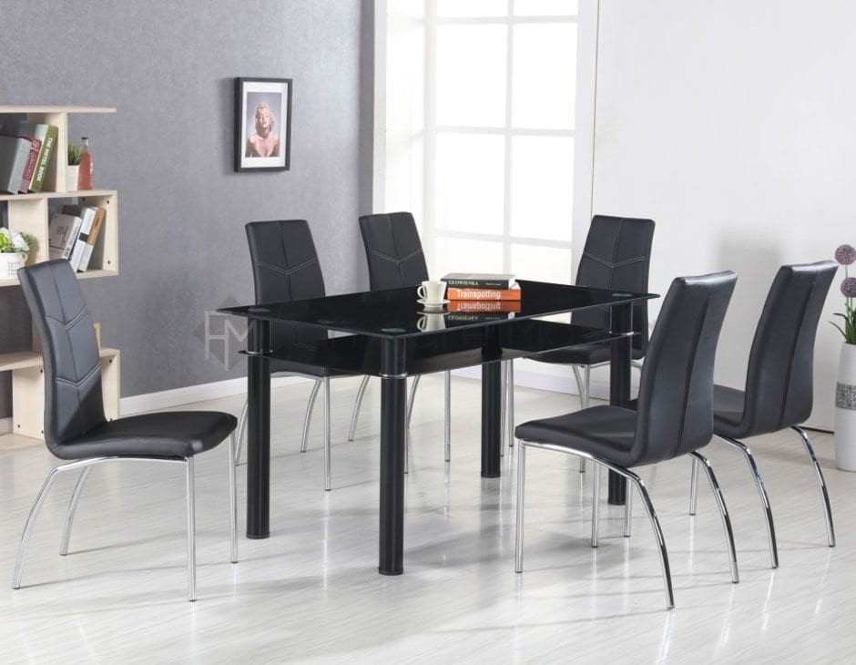 Home Furniture Dining Room Sets 8 Seaters