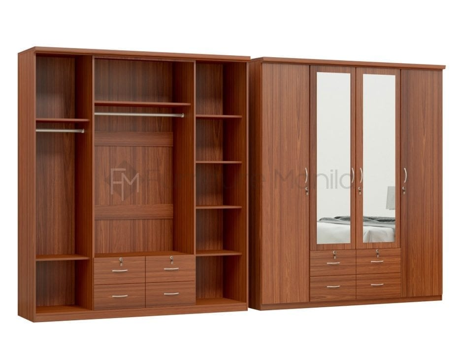 HS-BW406 4-Door Wardrobe